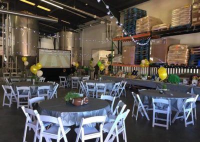 Non-profit event at Three Taverns Brewery