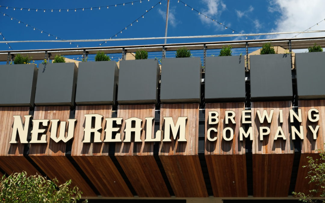 Front of New Realm Brewing