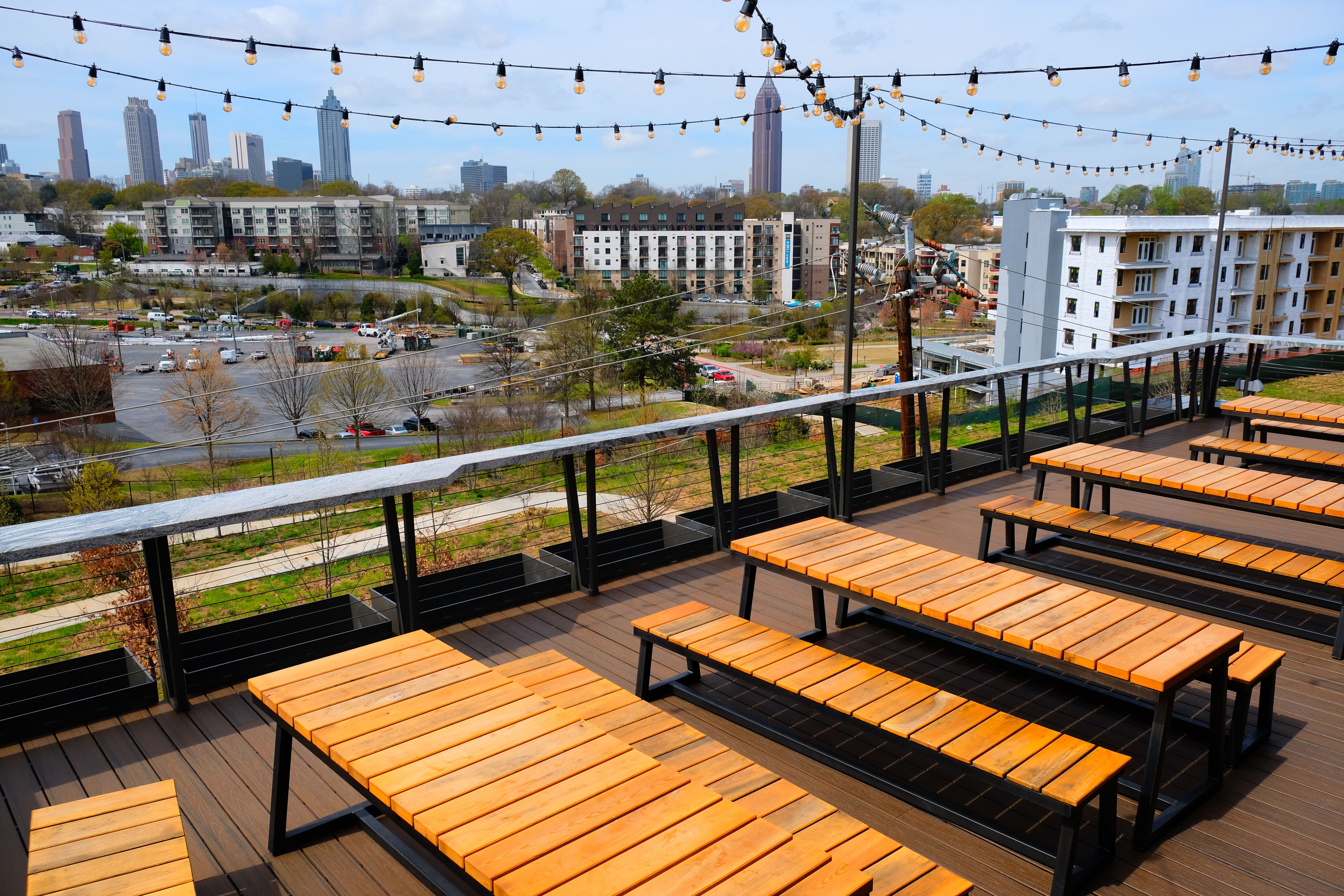 Rooftop at New Realm Brewing Co