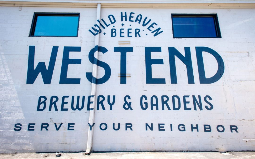 Wild Heaven West End sign