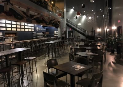 The Lost Druid Taproom at Night