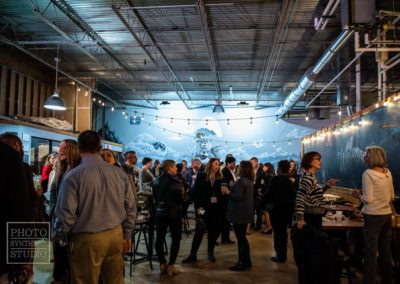 Networking at Pontoon Brewing